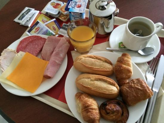 Bascharage, Luxembourg: Mon petit-déjeuner