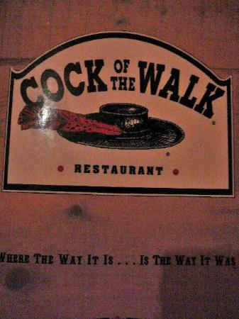 Cock Of The Walk Menu 24