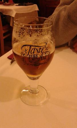 Restoran Na Susaku: Birra locale