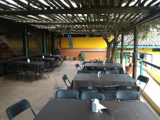 INBioparque: Restaurante Heliconias