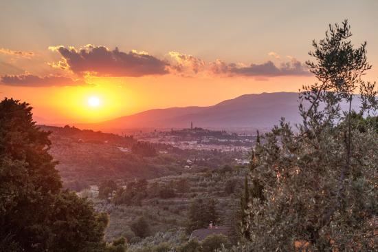 Sunset from La Locanda di Giulia