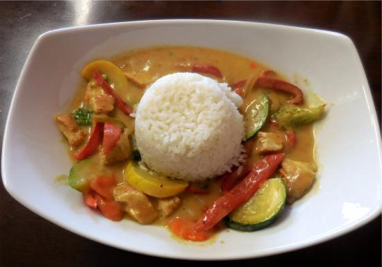 Kelseyville, Californien: Thai Curry