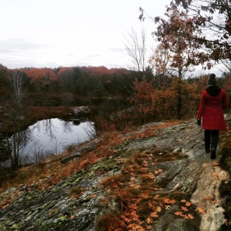 Kawartha Lakes, Canada : Fall walk