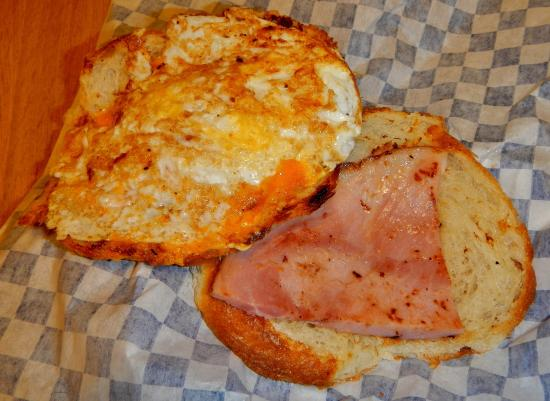 Dove Creek, CO: Inside the Croissant Sandwich