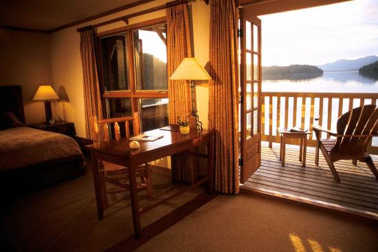 King Pacific Lodge : Comfortable guest rooms