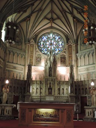 St Dunstans Basilica High Victorian Gothic Revival Architecture Of