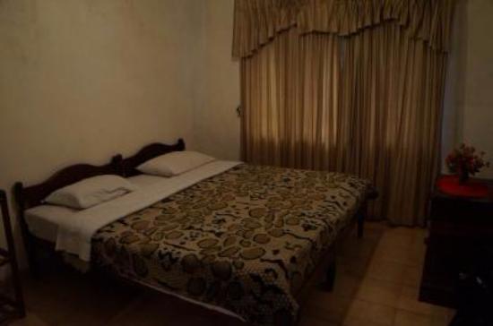Victoria Inn: 寝室は広く、季節によっては湿気っている