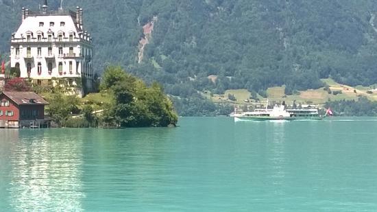 Chalet du Lac: Iseltwald vom Chalt du Lac aus