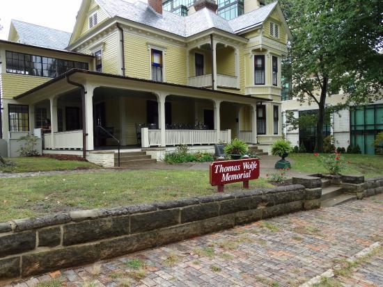 Thomas Wolfe Memorial: Beautiful home