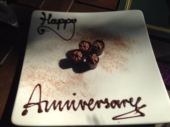 Hordle, UK: anniversary gift
