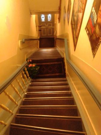 Hotel Museumzicht: Крутая лестница с улицы
