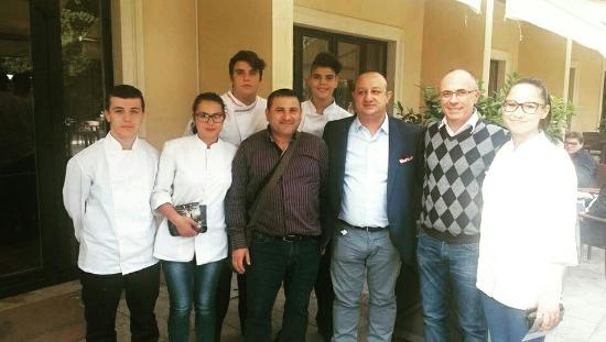 Santa Maria di Licodia, Itália: chef Moreno e Ciccio Sultano