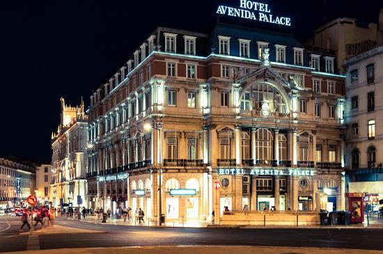 picture of hotel avenida palace. Black Bedroom Furniture Sets. Home Design Ideas