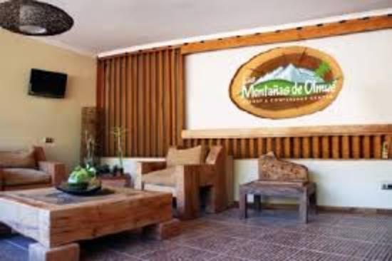 Las Montanas de Olmue: recepcion