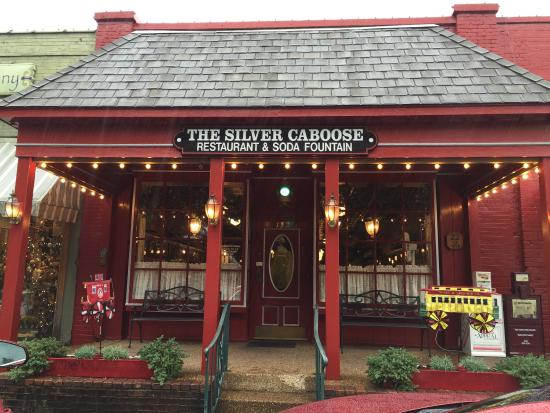 Silver Caboose Restaurant On Beautiful Collierville Square Review Of Tn Tripadvisor