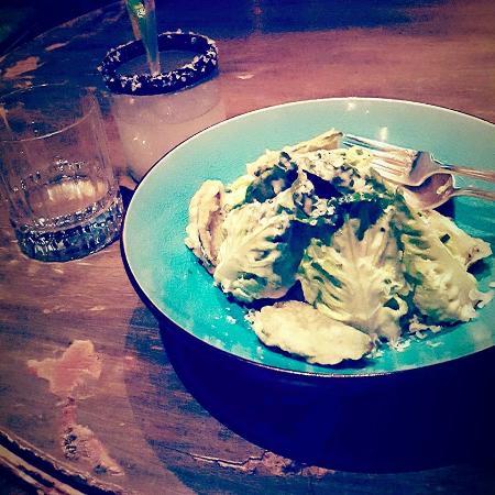 Peyote: cesar salad