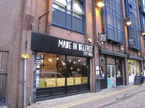 Made In Belfast Is Right Up A Very Small Street Ok An Alley