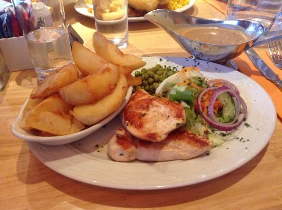 AJ's Diner: Pan fried chicken