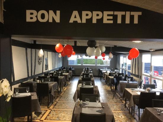 Bonsecours, Frankrike: La salle de la brasserie