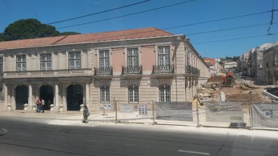 Museu Nacional dos Coches: Prédio Antigo