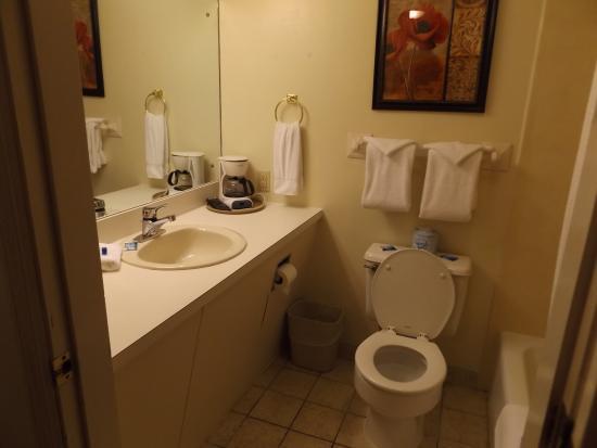 Our room at The Gillette Motel in Gatlinburg