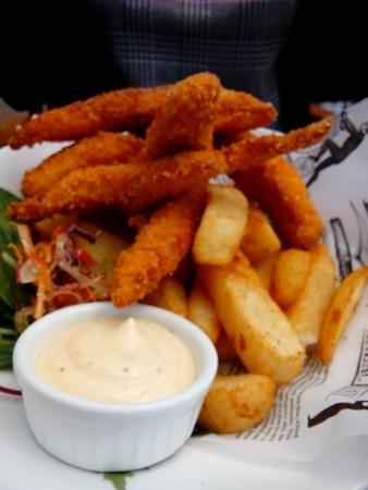 Clevedon, New Zealand: Panko Chicken Fingers