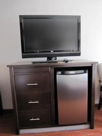 Holiday Inn Express Hotel & Suites Rapid City: The amenities in the room