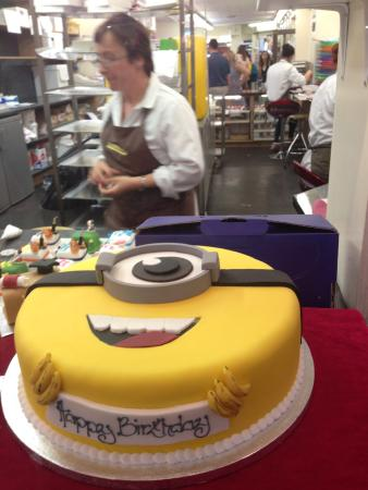 Minion cake one of several types of minion cakes and cupcakes