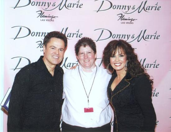 donny and marie flamingo meet greet