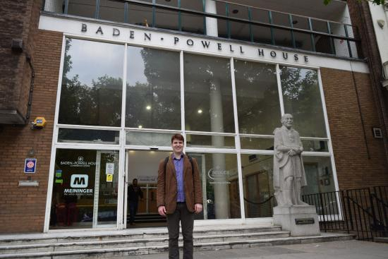 Entrance picture of baden powell house london tripadvisor for Powell house