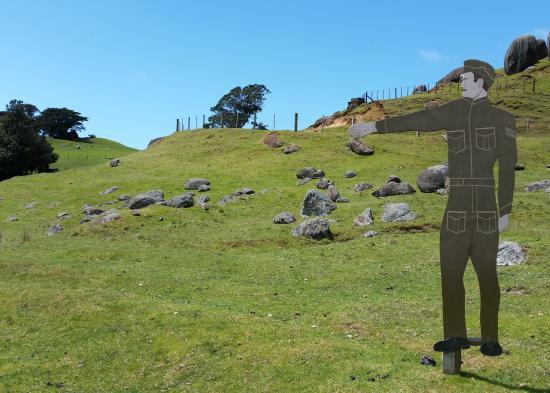 Waiheke Island, New Zealand: This way please