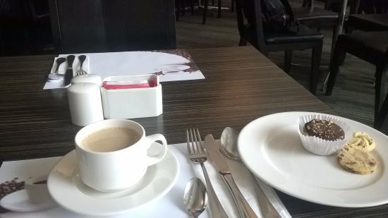 Cafe Taf: Desayuno