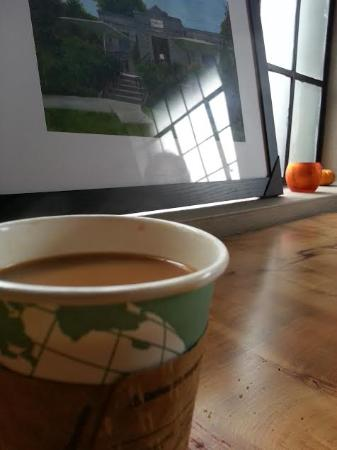 coffee and picture of Filo