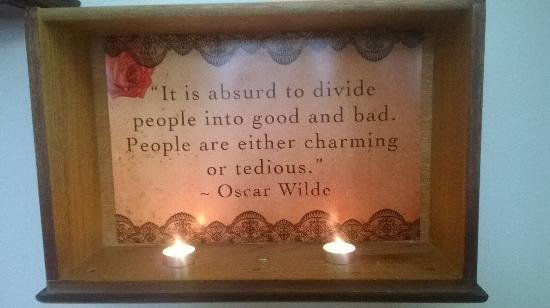 Oscar wilde decor picture of the magickal teahouse st for Art and decoration oscar wilde