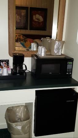 Amherst, فيرجينيا: Microwave