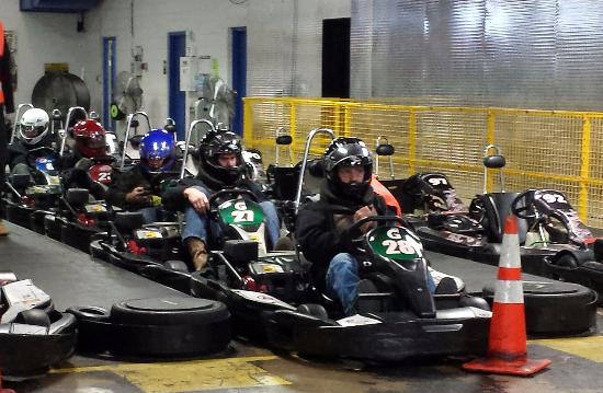 Grand Prix Karting Indoor Entertainment