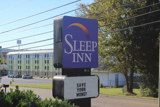 Sleep Inn North Knoxville: Main Sign