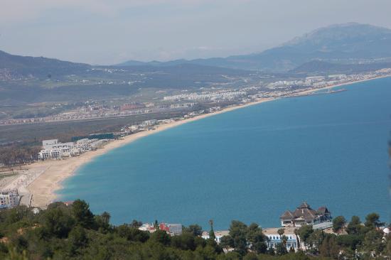 Cabo Negro, Maroko: la mer de la méditerranné