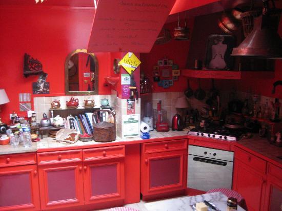 L'Ombre du Palais: Kitchen