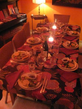 L'Ombre du Palais: Welcome dinner
