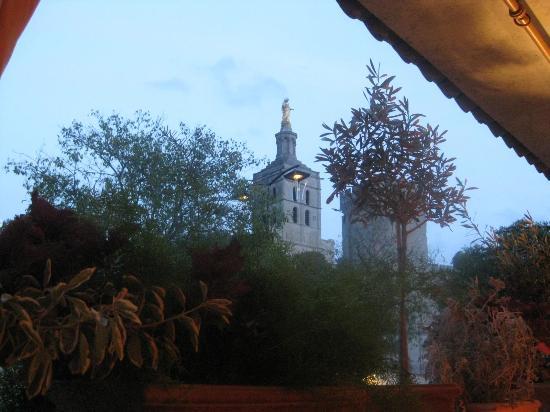 L'Ombre du Palais: View from the terrace