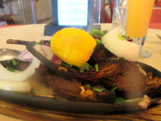 Very good tandoori lamb chops milan main street for Milan indian restaurant