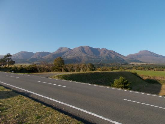 Oita Prefecture, Japão: やまなみハイウエイの景色