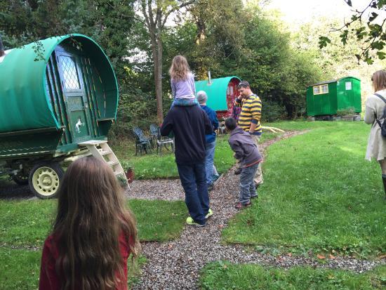 Powis House : The three caravan's circle