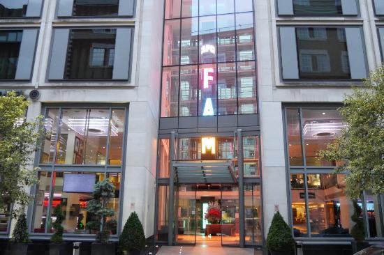 Grange St Paul S Hotel Entrance Is A Bit Gaudy For Luxury