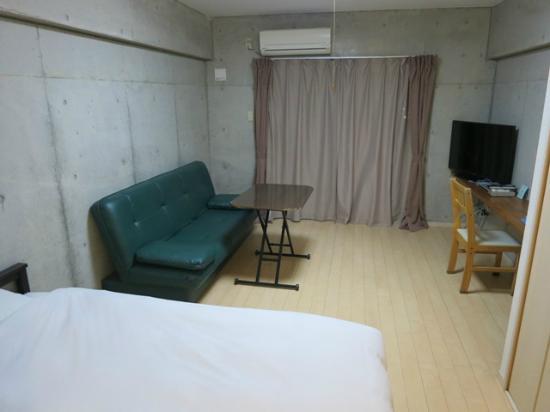 Resort In Rasso Ishigaki: 広々とした部屋でゆっくりできます。