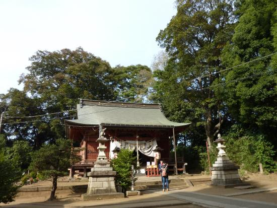 Miyoshino Shrine (Oshiro no Tenjinsama)
