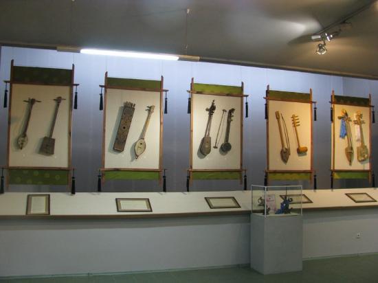 Tuva Republic, روسيا: Фрагмент экспозиции музея в Кызыле