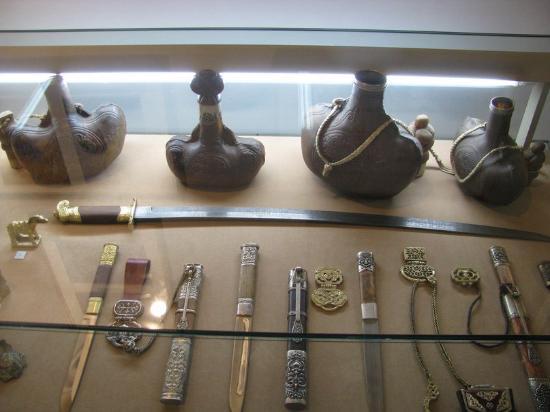 Tuva Republic, روسيا: фрагмент экспозиции Национального музея