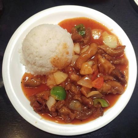 KK Malaysian Restaurant: Sweet & Sour Chicken